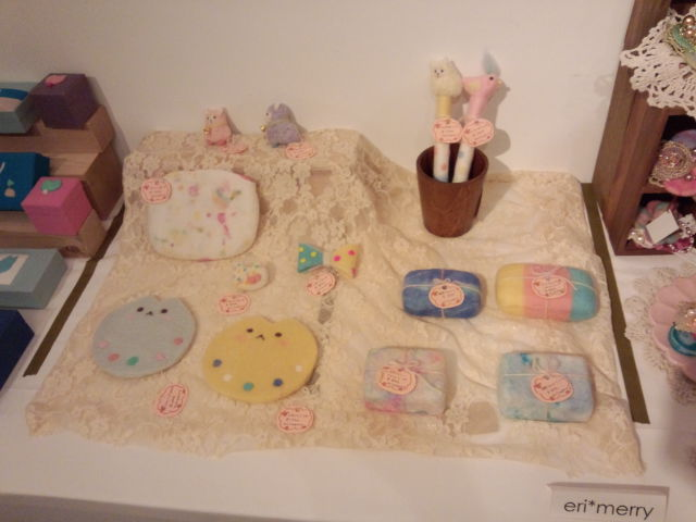 初夏の羊毛フェルト展示会。