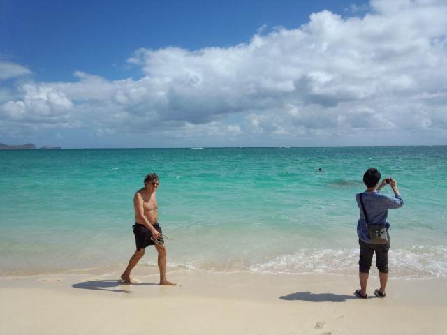 カイルアビーチ。